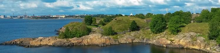 Финляндия - Хельсинки, крепость Свеаборг