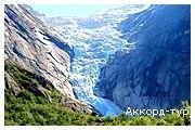 День 6 - Ледник Бриксдайл - Флом - Согнефьорд
