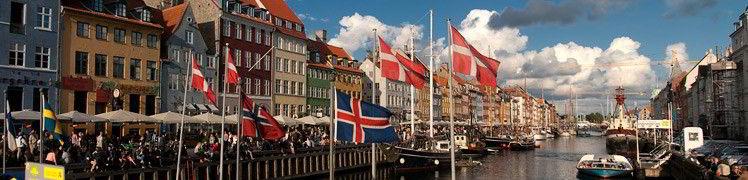 Дания - Набережная Нюхавн, Копенгаген