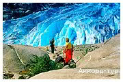 День 4 - Согнефіорд - Флом - Льодовик Нігардсбрін