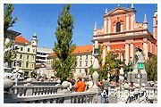День 2 - Любляна - Блед - Водопад Шум