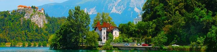 Словенія - озеро Блед