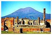 День 7 - Помпеї - Рим