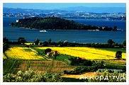 День 6 - Ареццо – Кортона – Пьенца – озеро Тразимено – долина Валь д'Орча