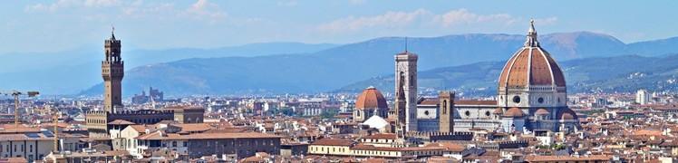 Флоренция - панорама Города. Италия