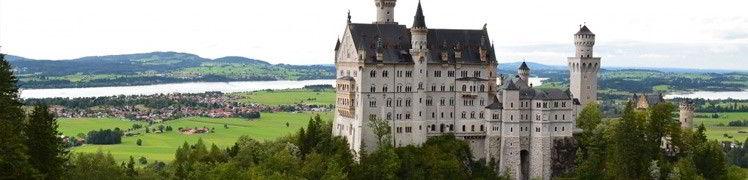Германия - замок Нойшванштайн, Бавария