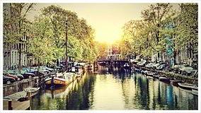 """Оригинал - Схема вышивки  """"Каналы Амстердама.  - Схемы вышивки - Tanit7509 - Авторы - Портал  """"Вышивка крестом."""