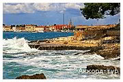 День 6 - Пула - Архипелаг Бриюни - Отдых на Адриатическом море Хорватии...