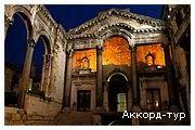 День 7 - Мостар - Сплит - Трогир - отдых на Адриатическом побережье