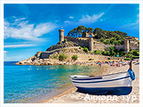 День 4 - Бесалу  - Жирона - Тосса-де-Мар - Отдых на море Испании