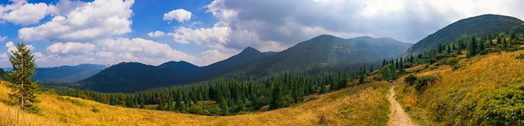 Украина - горы Карпаты