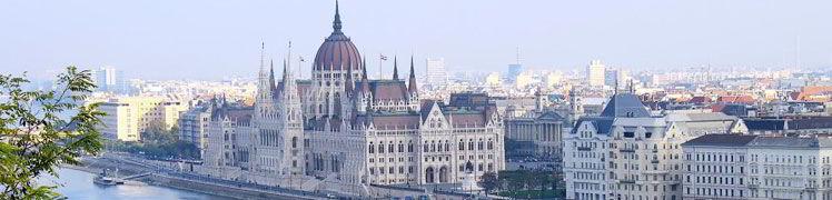 Венгрия - здание парламента в Будапеште