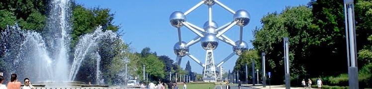 Бельгія. Атоміум - одна з головних визначних пам'яток і символ Брюсселя