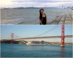 Фото из тура Клубника с Портвейном и ПортугалияПариж, Мадрид, Лиссабон, Барселона, Ницца и Венеция, 15 июня 2014 от туриста Яна
