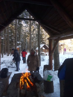 Фото из тура А над Говерлой зимние облака!, 16 января 2017 от туриста Люда