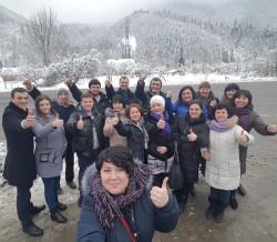 Фото из тура Изюминки Закарпатья, 10 февраля 2018 от туриста Елена-Одесса