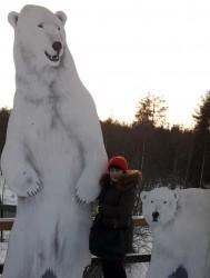 Фото из тура Страна Санта КлаусаЛапландское приключение, 09 января 2020 от туриста Світлана