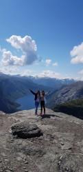 Фото з туру Твоя Скандинавія:3 Фьорда + 3 Столиці!+ льодовик Нігардсбрін та Язик Троля!!!, 05 липня 2019 від туриста Олена