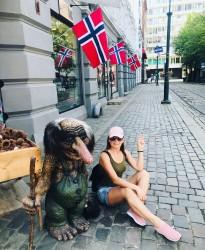 Фото из тура Скандинавские фьорды3 фьорда, 3 замка, 4 столицыЛедовик Нигардсбрин, Язык Тролля и Берген, 18 августа 2019 от туриста Віка