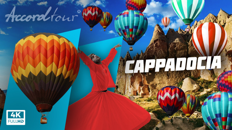 Каппадокия Турция отдых 2021: Воздушные шары, Каймаклы, Гереме   Аккорд туры в Каппадокию!