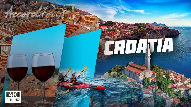 Хорватия (Croatia 4k) Лучший отдых в Хорватии | Аккорд-тур туры в Хорватию!