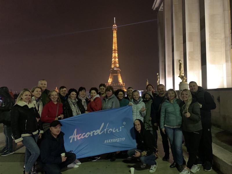 17.10 Гарантированный тур - Влюбиться в Париж