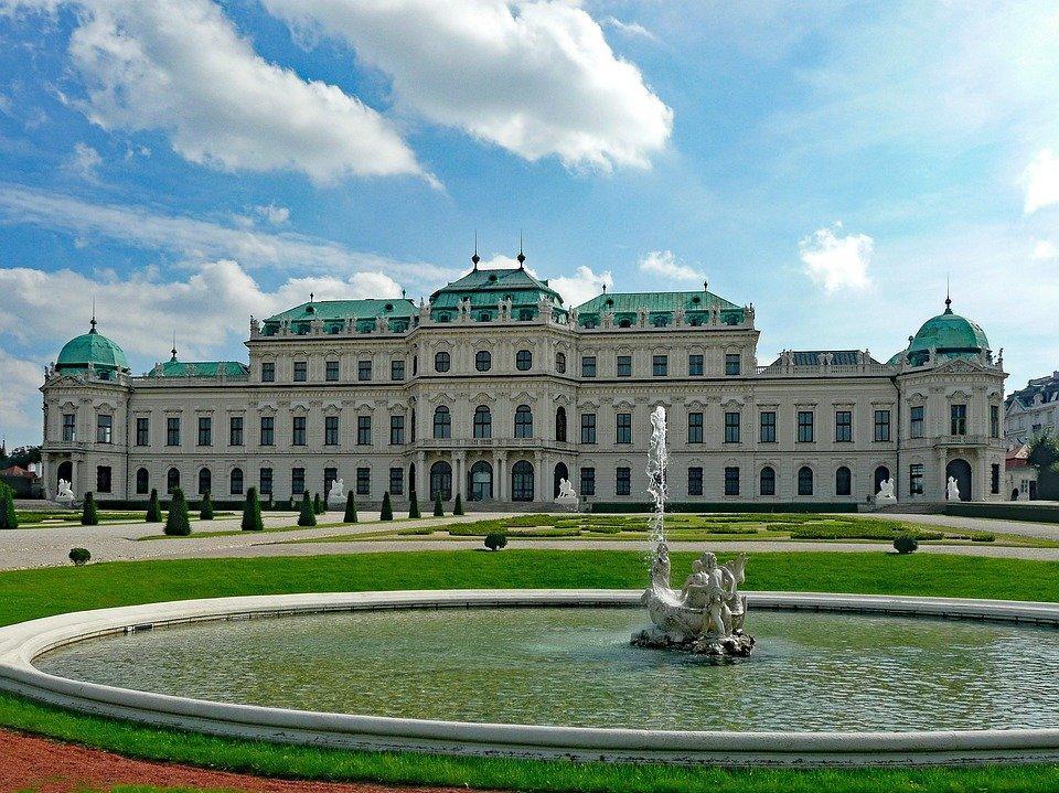 Палац Бельведер, Австрія
