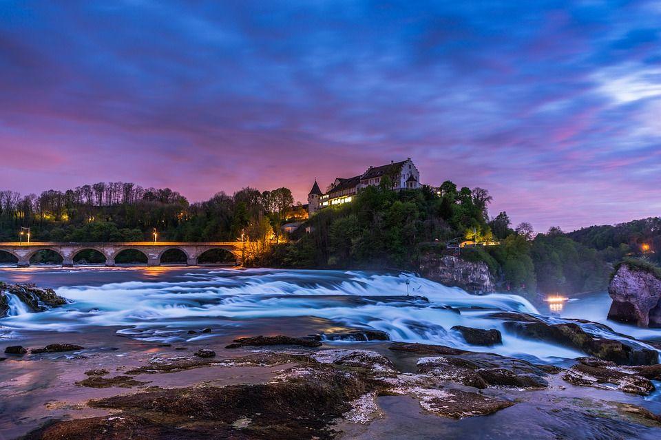 Рейнский водопад, Швейцария