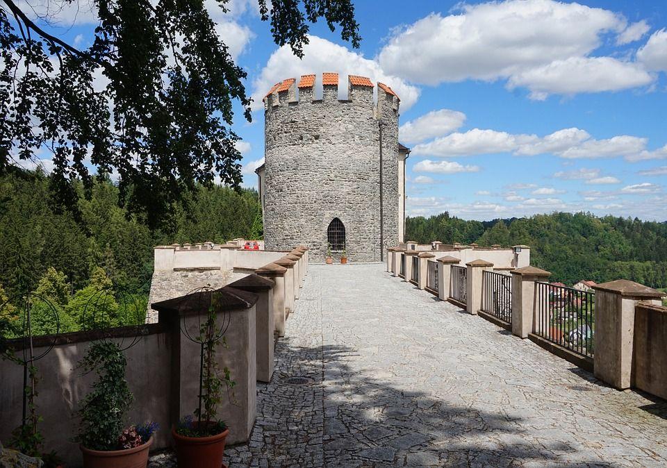 Замок Чеський Штейнберг, Чехія