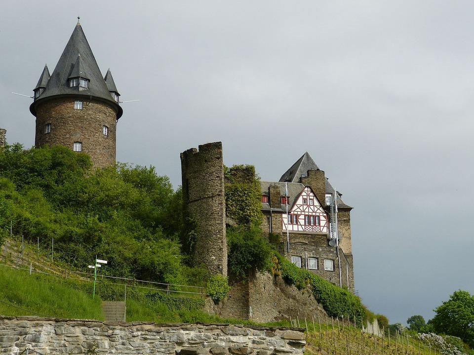 замки Рейна, Германия