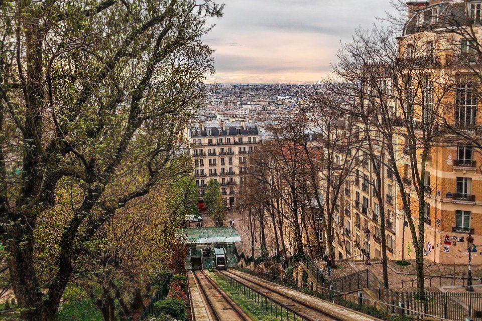 Монмартр, Франция