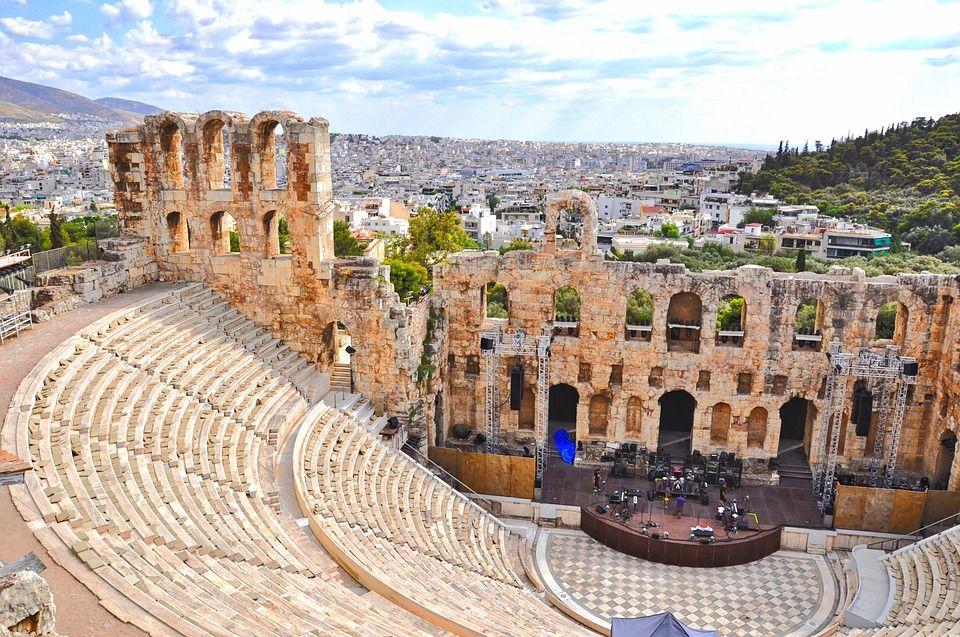 Акрополь, Греция