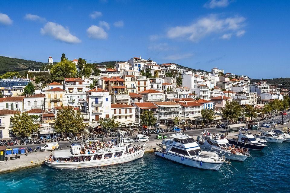 Скіатос, Греція