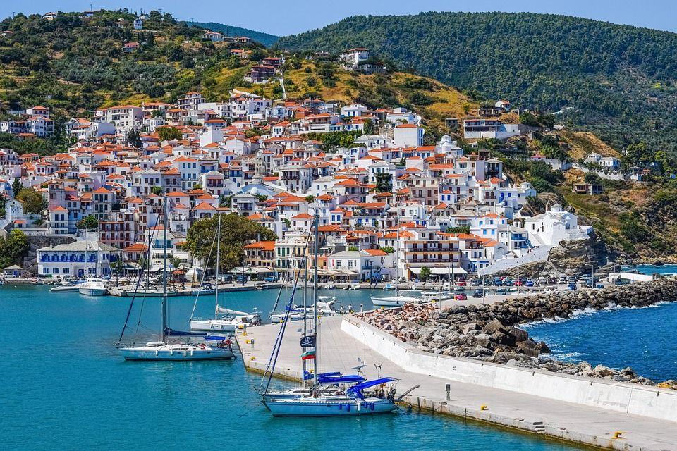 Отдых на побережье Эгейского моря, Греция