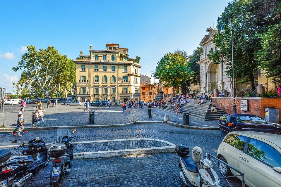район Трастевере, Италия