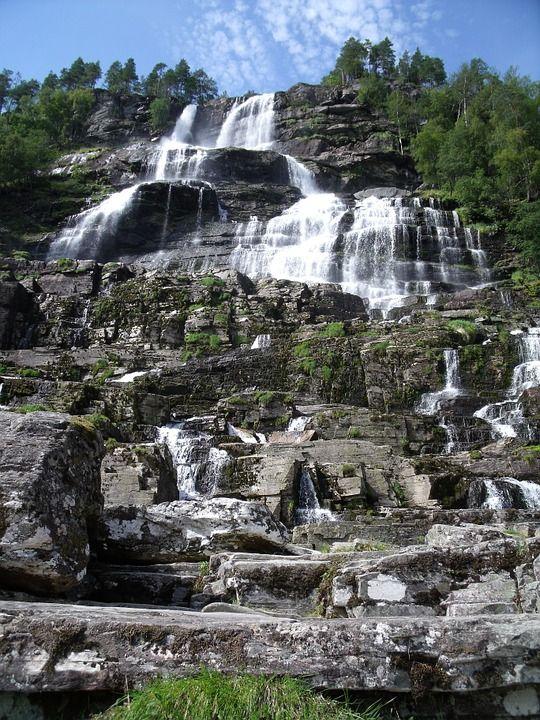 Водоспад Твіндефоссен, Норвегія