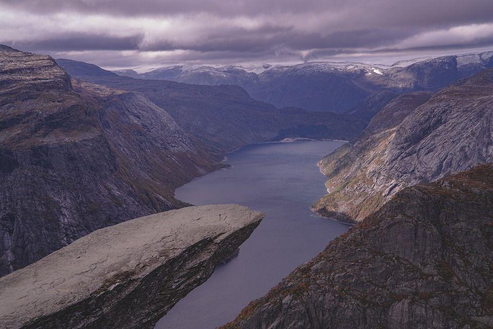 Язик троля, Норвегія