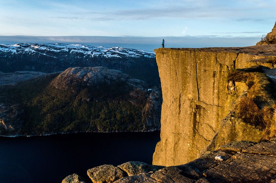 Прейкестолен - Кафедра Проповідника, Норвегія