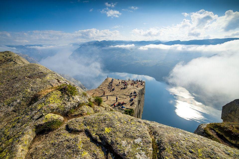 Прекестулен - Кафедра Проповедника, Норвегия