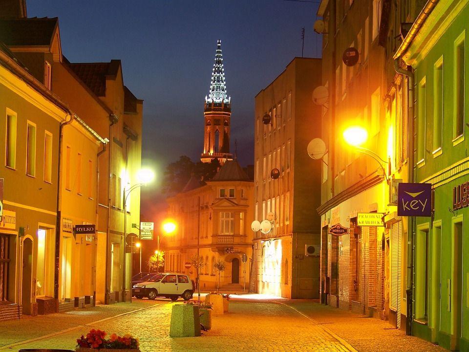Жагань, Польша