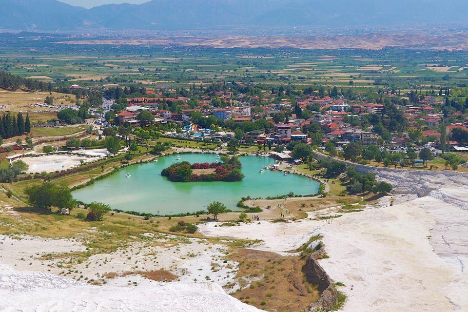 Памуккале, Турция