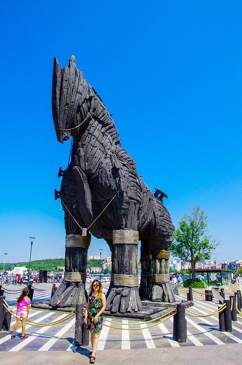 Троя, Турция