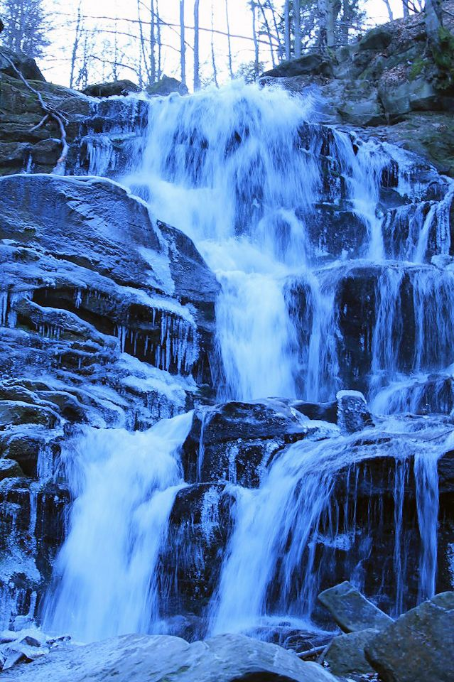 водоспад Шипіт, Україна