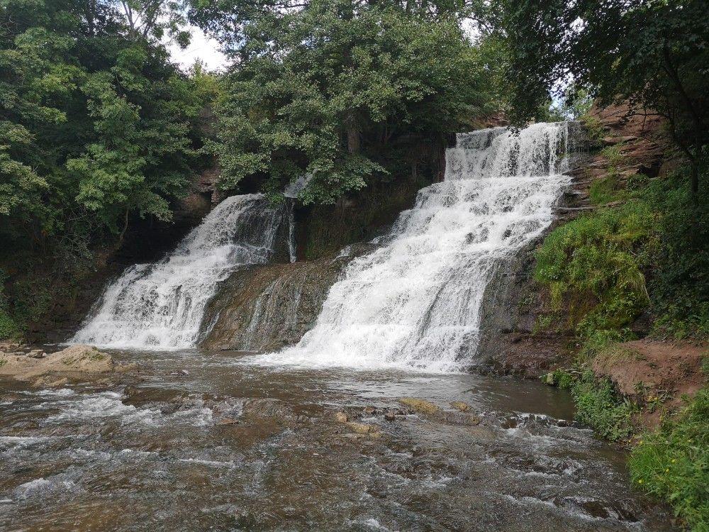 водопад Джуринский, Украина